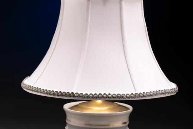 Old Paris Cache Pot Lamp