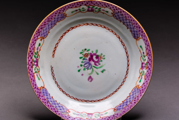 Chinese Export Plate (French Market)