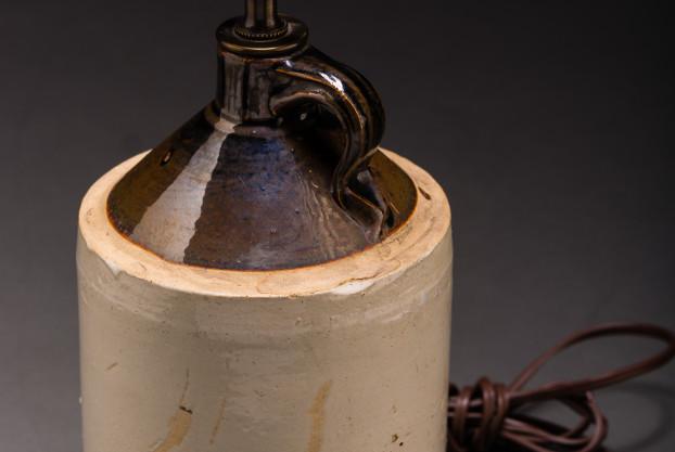 Ohio Crock Lamp