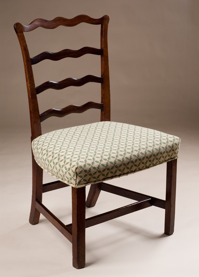 Antique Ladder Back Side Chair