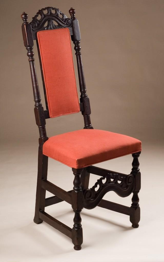 Oak Jacobean Style Chair