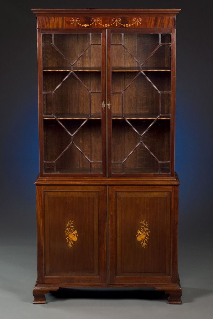19th Century Collection Cabinet