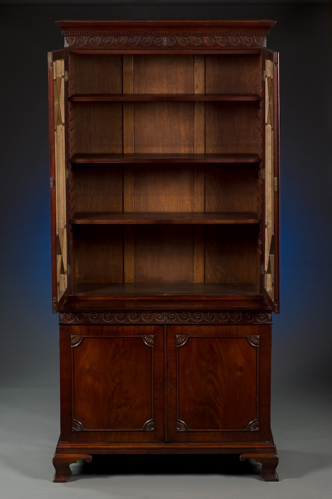 Chippendale Style Bookcase
