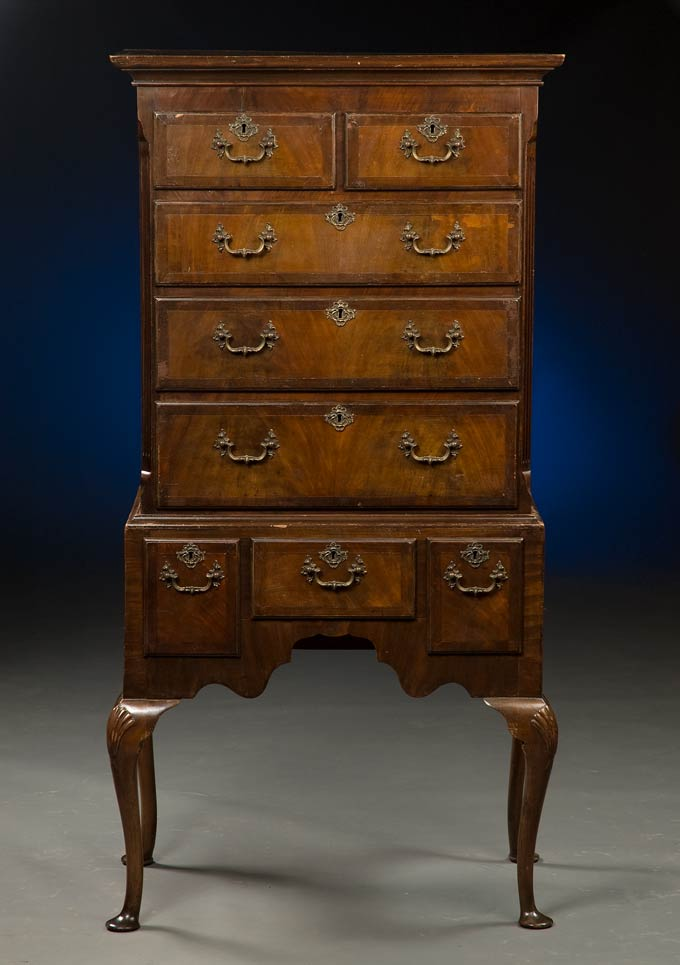 English Antique Highboy