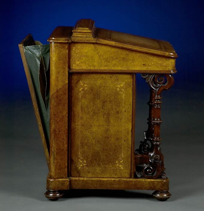 Description: - Antique Davenport Desk
