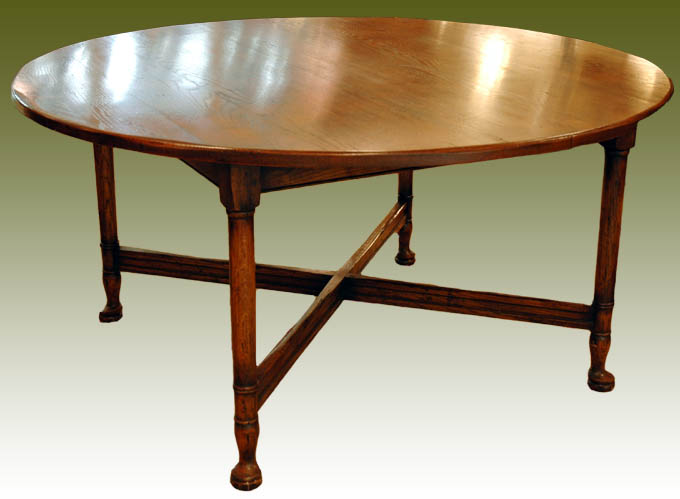 English Antique Reproduction Dining Table