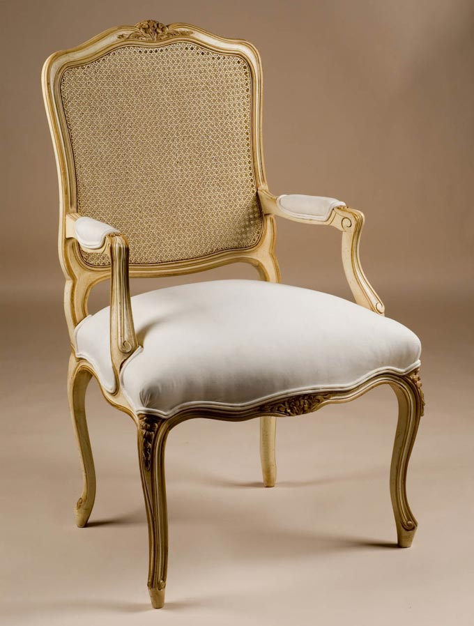 French Antique Reproduction Armchair