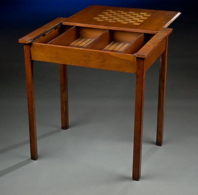 Yew Wood Game Table