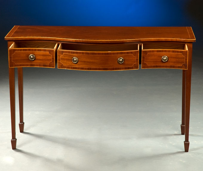 Sheraton style serving table for What is sheraton style furniture