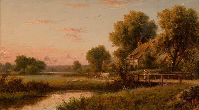 henry maidment landscape scene