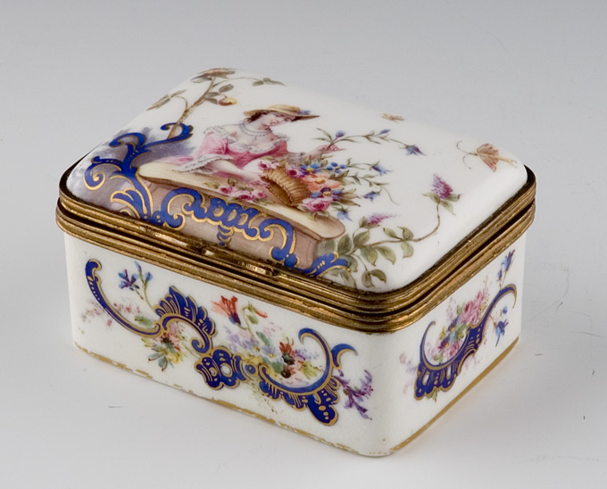 Sevres Porcelain Box
