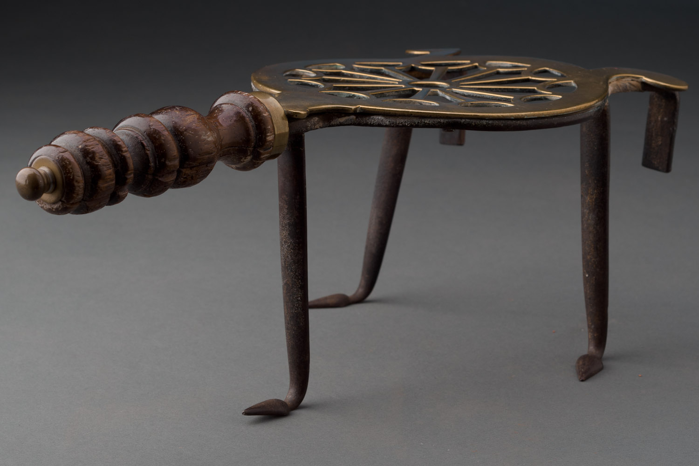English Antique Brass Trivet