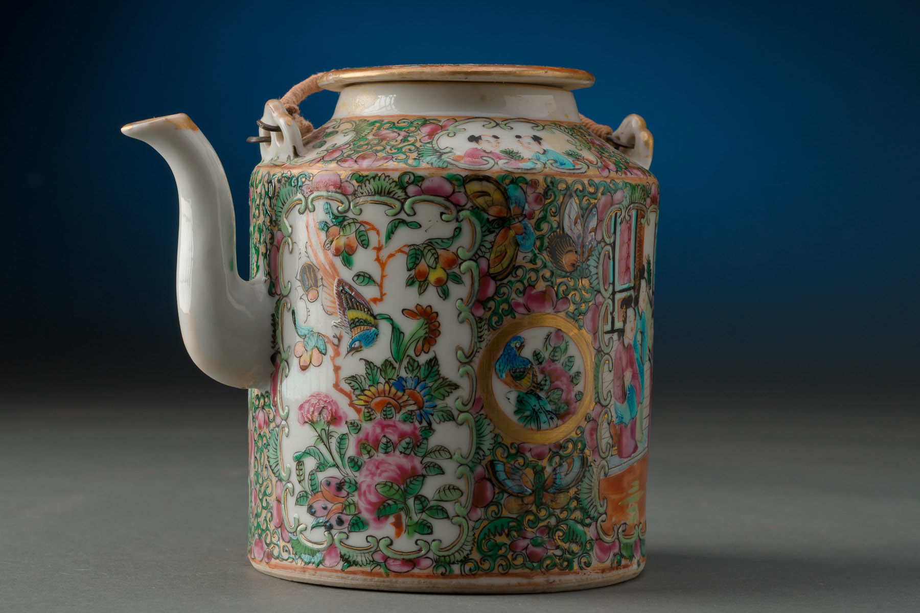 Chinese Cantonese Tea Pot