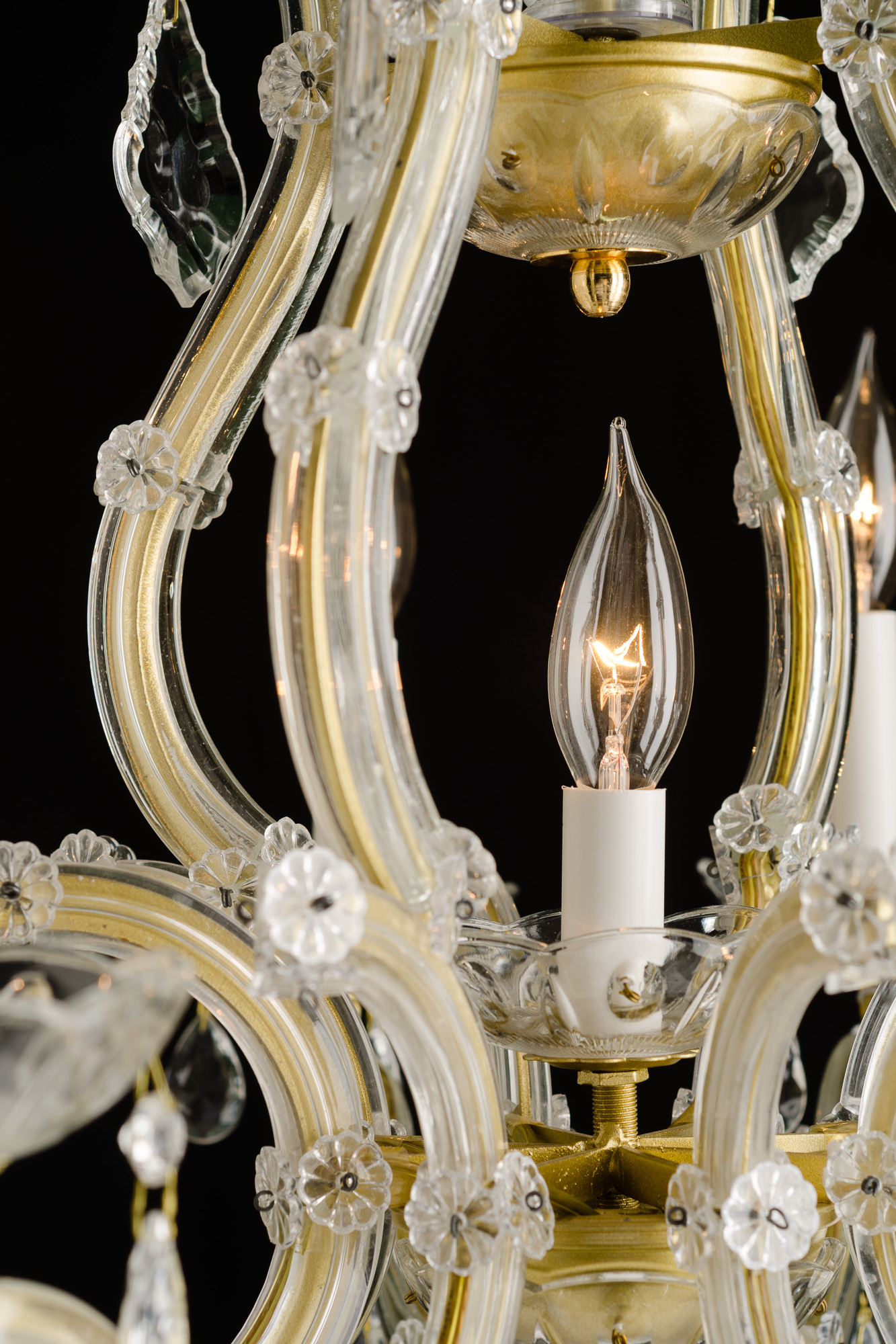 Crystal Maria Theresa Chandelier